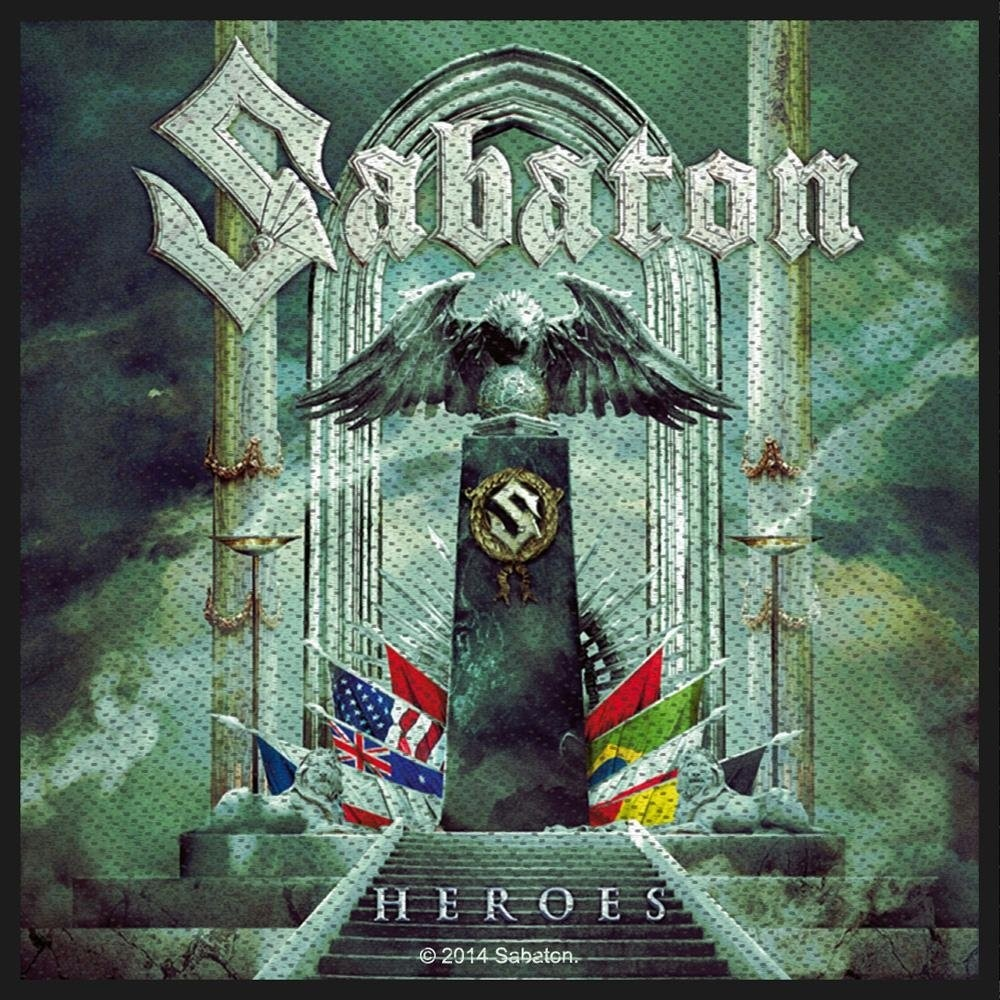 Sabaton Heroes Patch