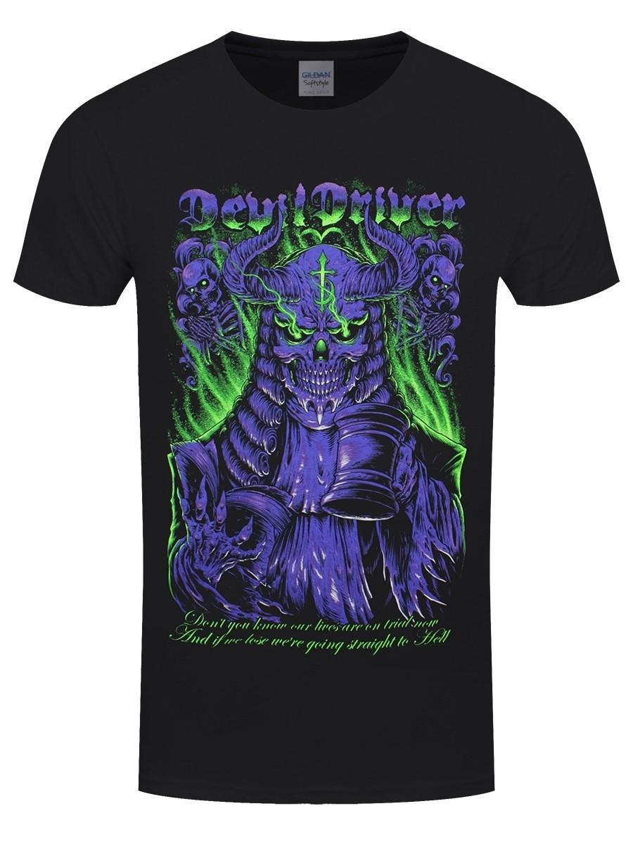 Devildriver Judge Neon T-Shirt