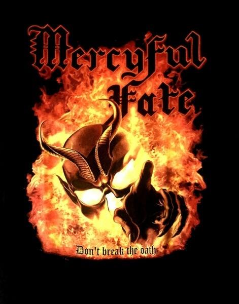 Mercyful Fate Don't Break The Oath Patch