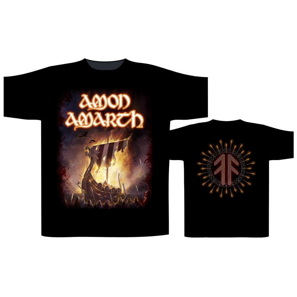 Amon Amarth 1000 Burning Arrows T-Shirt