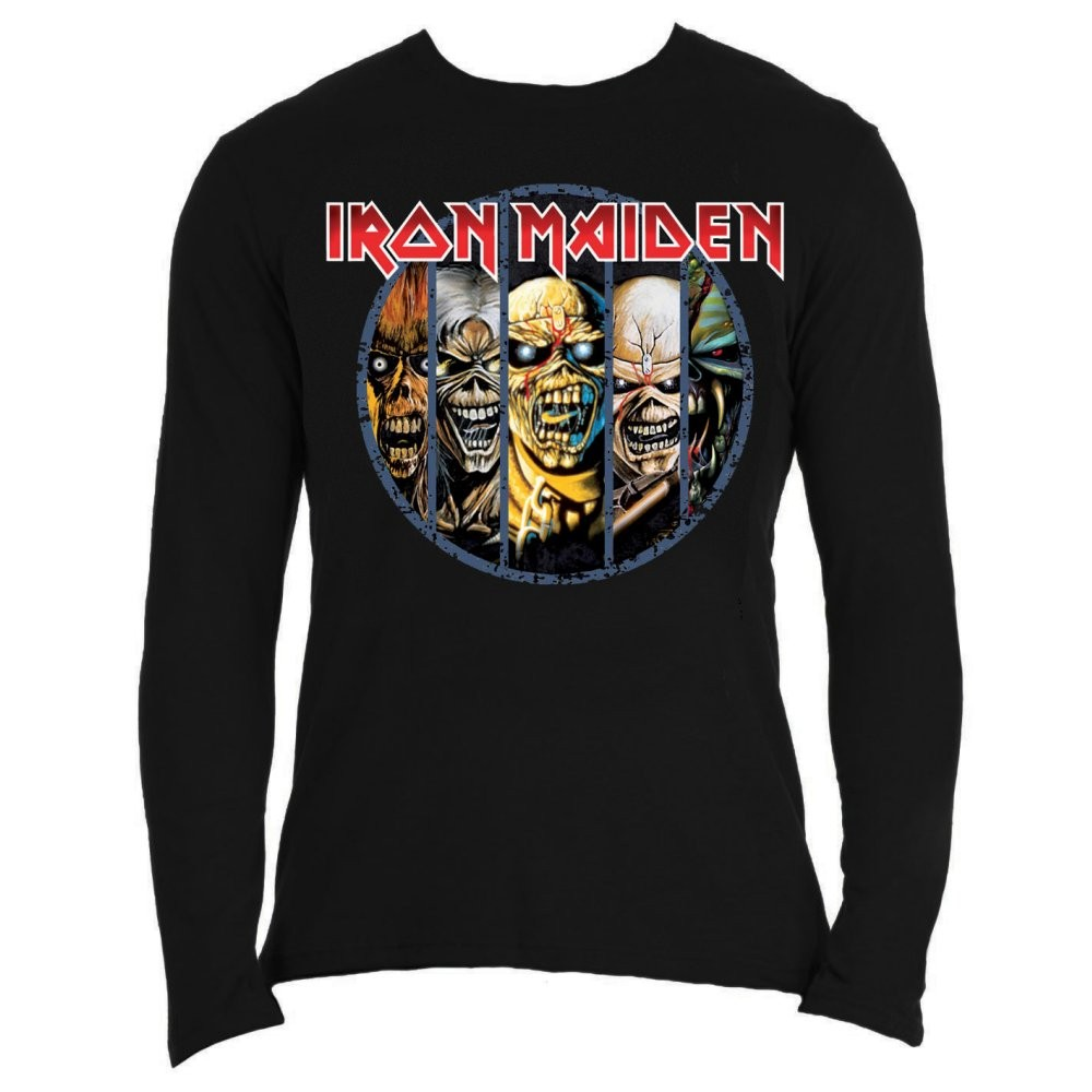 Iron Maiden Eddie Evolution Longsleeve Shirt
