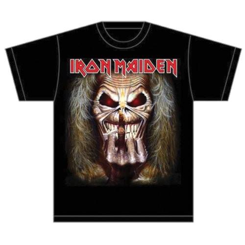 Iron Maiden Eddie Candle Finger T-Shirt