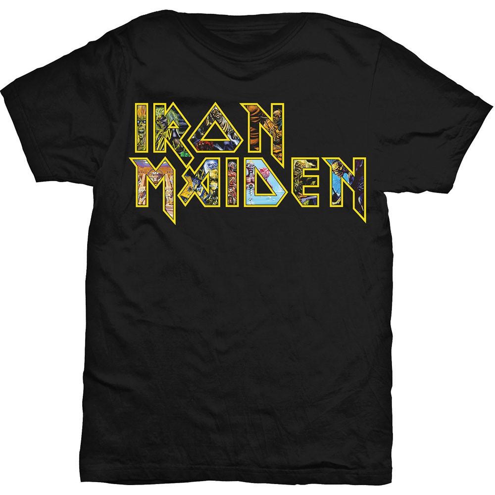 Iron Maiden Eddie Logo T-Shirt