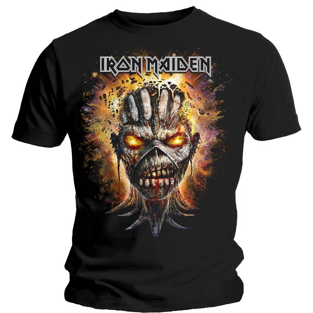 Iron Maiden Eddie Exploding Head T-Shirt