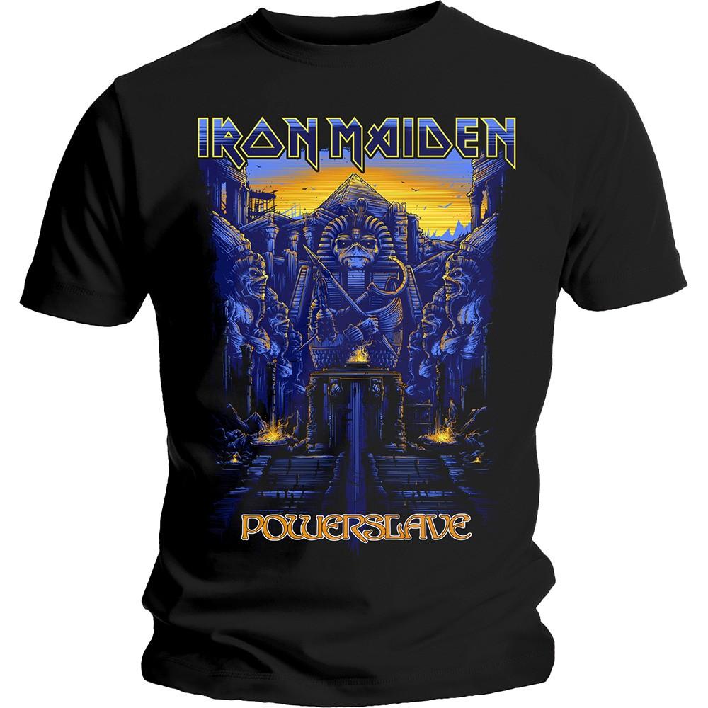 Iron Maiden Dark Ink Powerslave T-Shirt