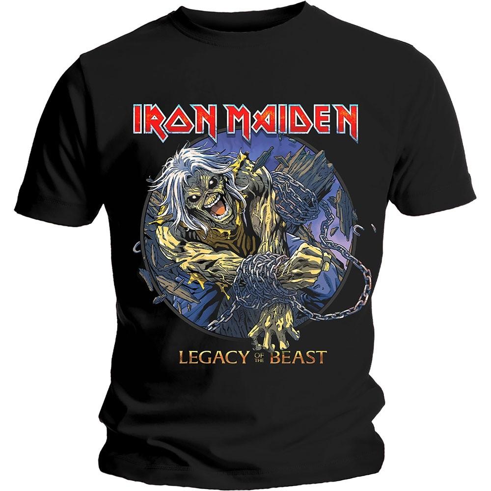 Iron Maiden Eddie Chained Legacy T-Shirt