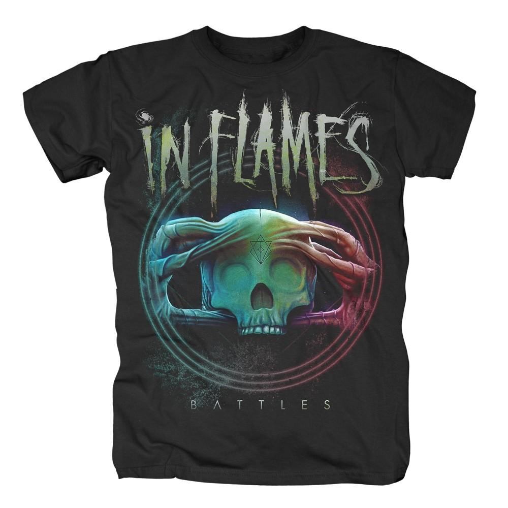 In Flames Battles Circle T-Shirt