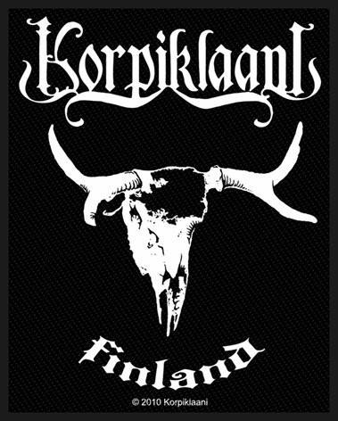 Korpiklaani Finland Backpatch