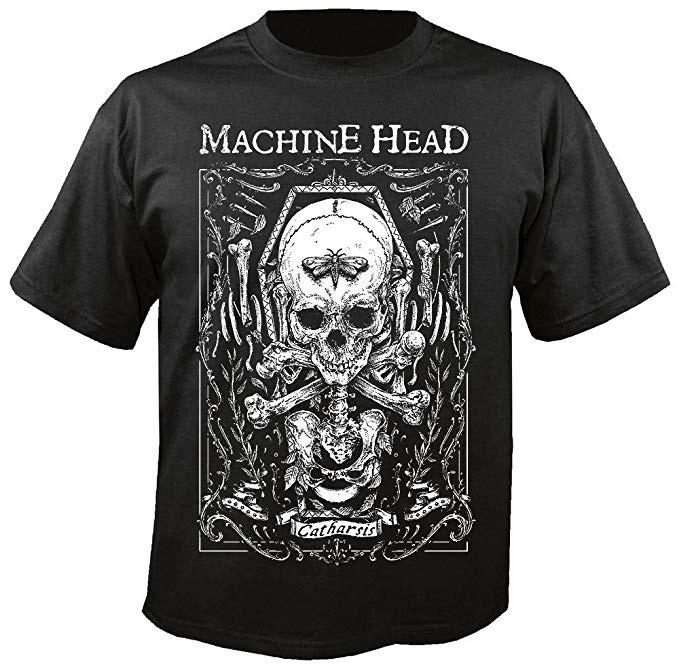 Machine Head Moth T-Shirt
