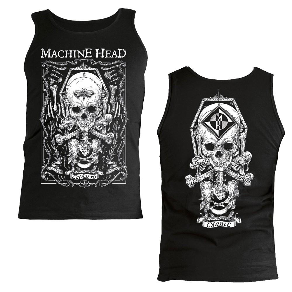 Machine Head Moth Girls Vest