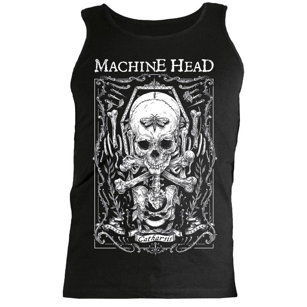 Machine Head Moth Tank Top
