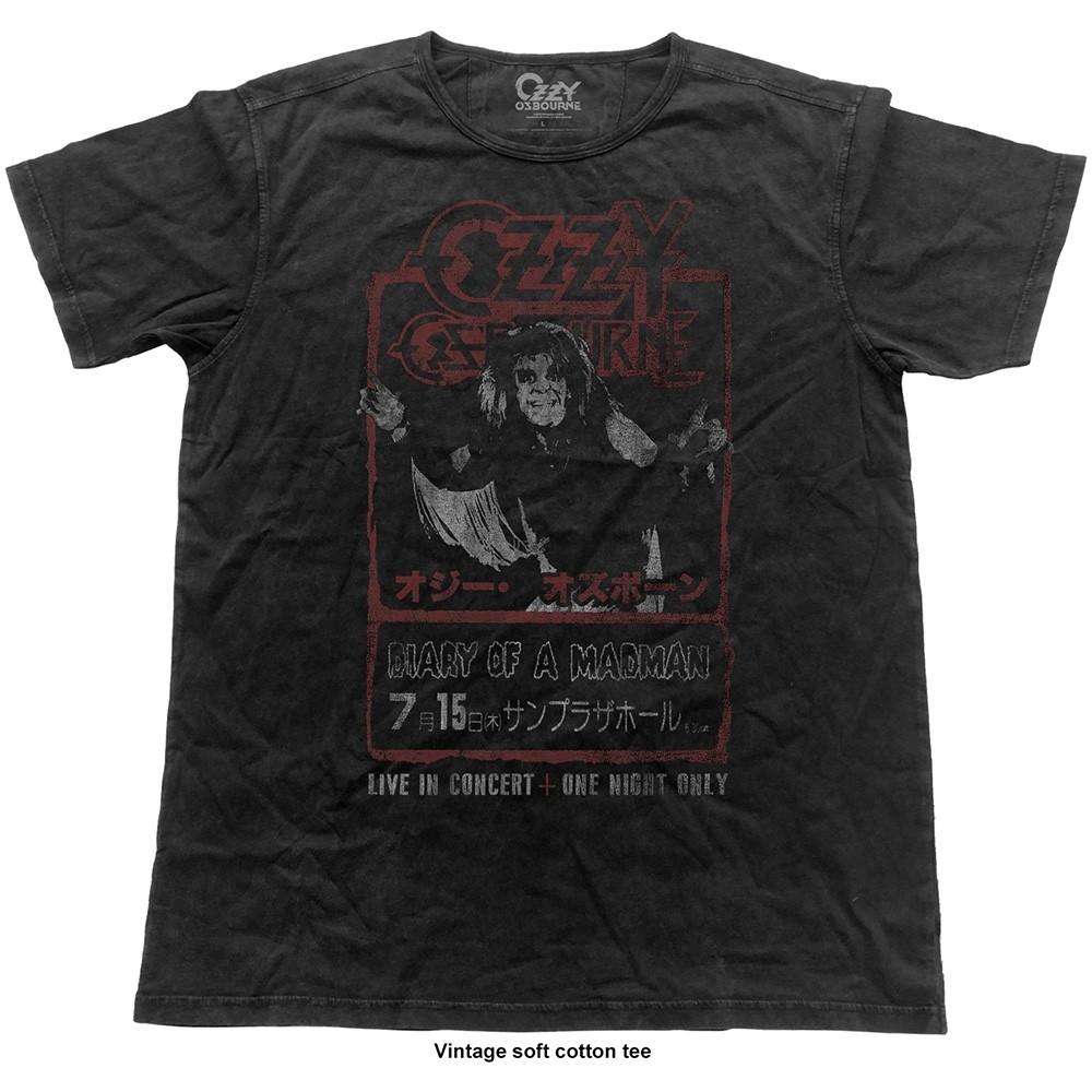 Ozzy Osbourne Vintage Japan Flyer T-Shirt