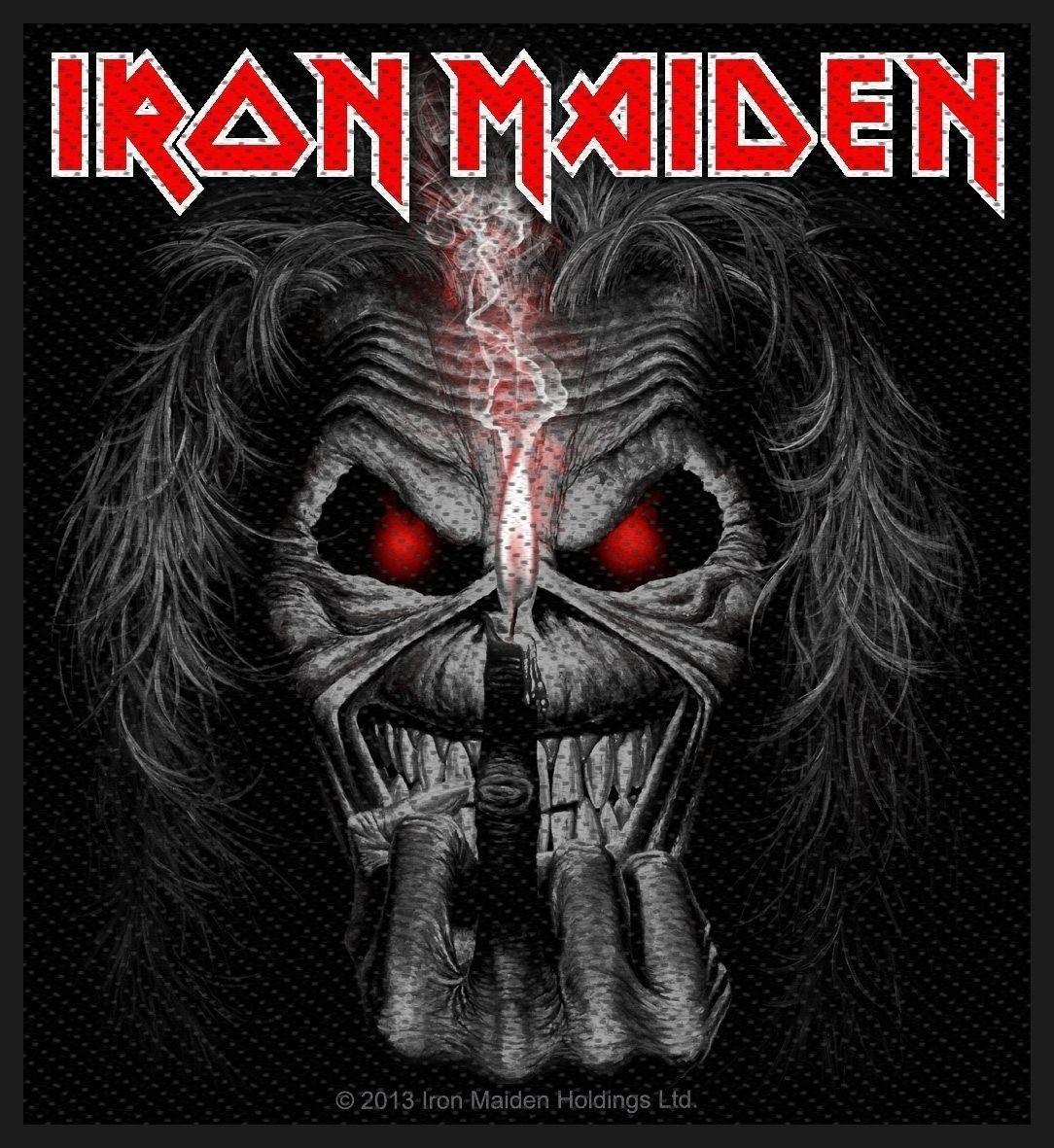 Iron Maiden Eddie Candle Finger Patch