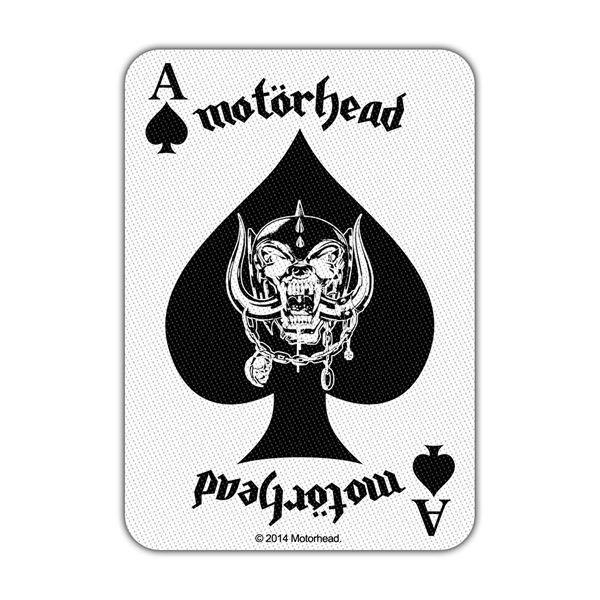 Motorhead Ace Of Spades Card Patch