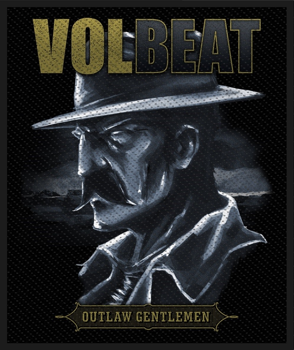 Volbeat Outlaw Gentlemen Patch