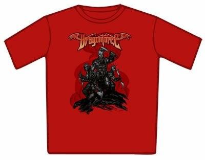 Dragonforce Battle Red T-Shirt
