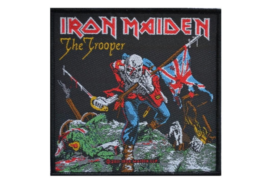 Iron Maiden The Trooper Patch