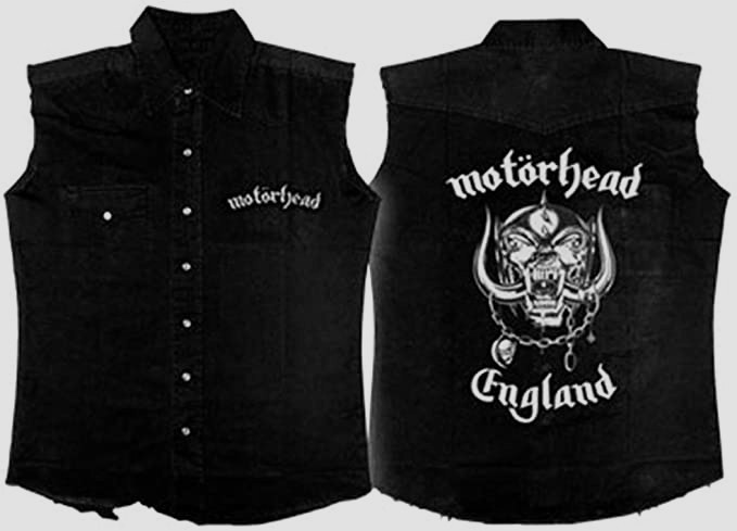 Motorhead England Workshirt