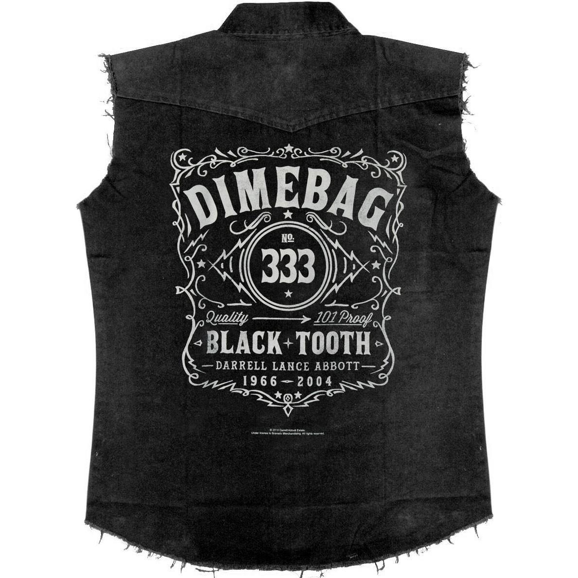 Dimebag Darrell Black Tooth Work Shirt