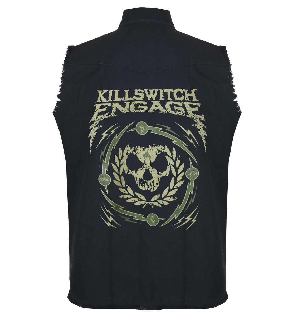 Killswitch Engage Skull Wreath Workshirt