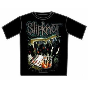 Slipknot Fire Bed T-Shirt