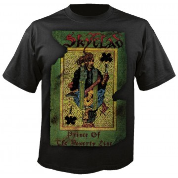 Skyclad Prince Of The Poverty Line T-Shirt