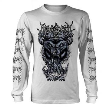 Moonspell Wolfheart (White) Longsleeve T-Shirt