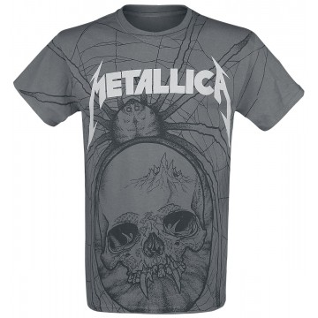 Metallica Spider (All Over) T-Shirt