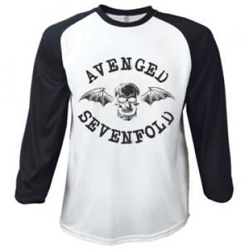 Avenged Sevenfold Classic Death Bat Raglan Baseball Longsleeve
