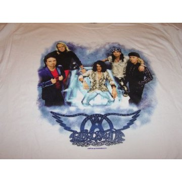 Aerosmith Band With Chair T-Shirt