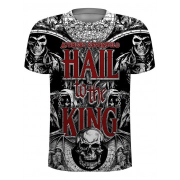 Avenged Sevenfold Chalice Allover Print T-Shirt