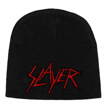 Slayer Scratched Logo Beanie Hat