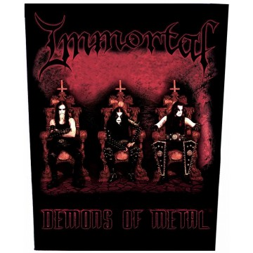 Immortal Demons Of Metal Backpatch