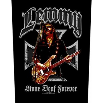 Lemmy (Motorhead) Stone Deaf Backpatch
