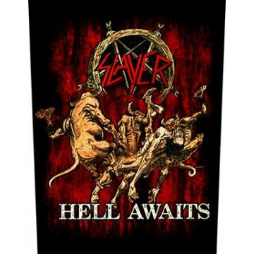 Slayer Hell Awaits Backpatch