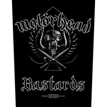 Motorhead Bastards Backpatch