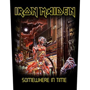 Iron Maiden Somewhere In Time Backpatch