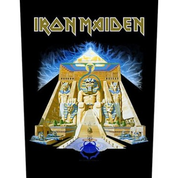 Iron Maiden Powerslave Backpatch