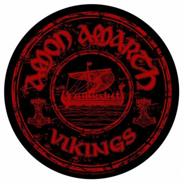 Amon Amarth Vikings Circular Backpatch