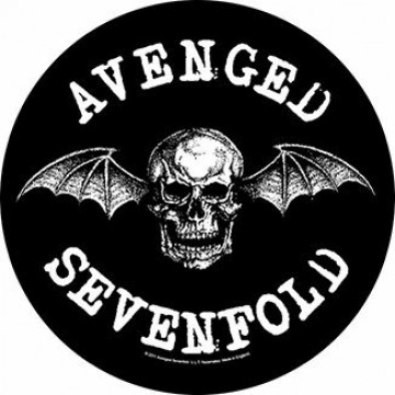 Avenged Sevenfold (A7X) Death Bat Backpatch