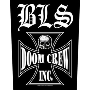 Black Label Society (BLS) Doom Crew Backpatch