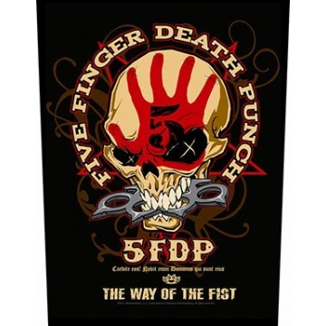 Five Finger Death Punch (5FDP) Way Of The Fist Backpatch