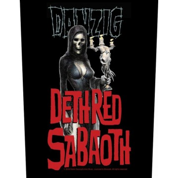 Danzig Candelabra Backpatch