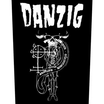 Danzig 18 Beast Backpatch