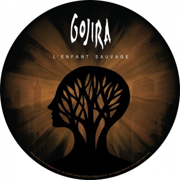 Gojira L'Enfant Sauvage Backpatch
