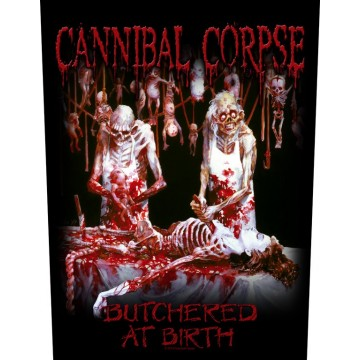 Cannibal Corpse Butchered At Birth Backpatch