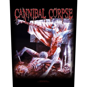 Cannibal Corpse Tomb Of The Mutilated Backpatch