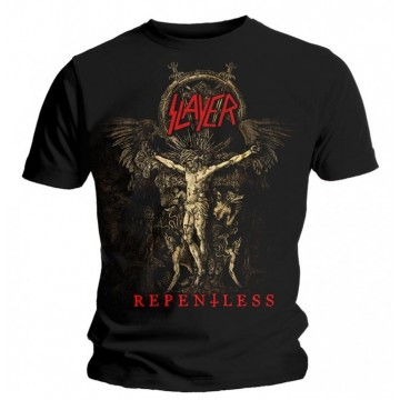 Slayer Cruciform Skeletal T-Shirt