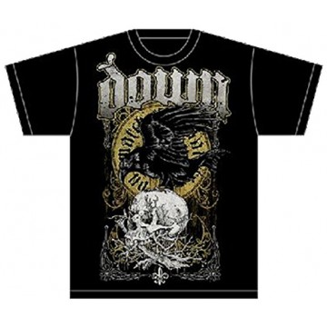 Down Swamp Skull T-shirt