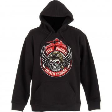 Five Finger Death Punch Bomber Patch Hoodie